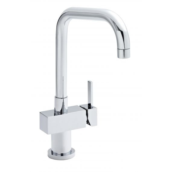 Nuie Single Lever Side Action Kitchen Mixer Chrome