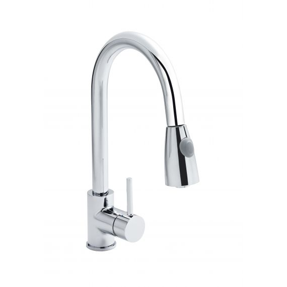 Nuie Side Action Pull-out Kitchen Mixer Tap