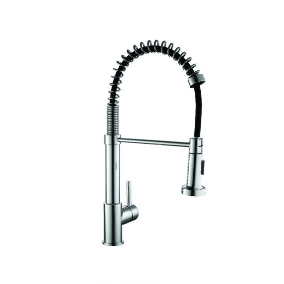 Panegro Kitchen Sink Mixer With Pull Out Spray