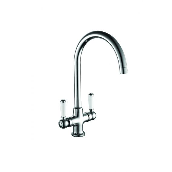 Vicensa Dual Lever Traditional Kitchen Sink Mixer