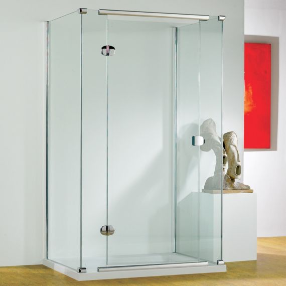 Kudos Infinite Semi-Frameless 900mm Hinged Door Left Hand