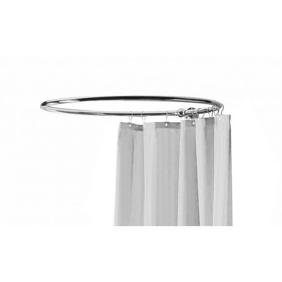 Nuie Traditional Round Shower Ring Chrome