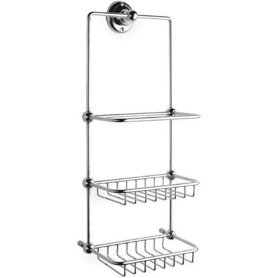 Nuie Traditional Shower Tidy Chrome