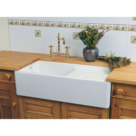 Shaws of Darwen Longridge Belfast Kitchen Sink FCSO0610WH