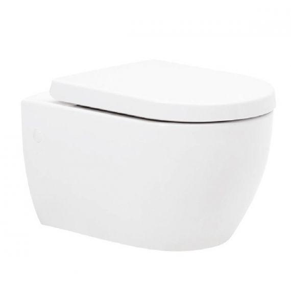 Metro-K Wall Hung Toilet Inc Soft Close Seat