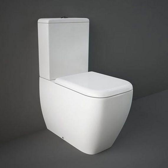 RAK Metropolitan Close Coupled BTW Toilet Inc Soft Close Seat