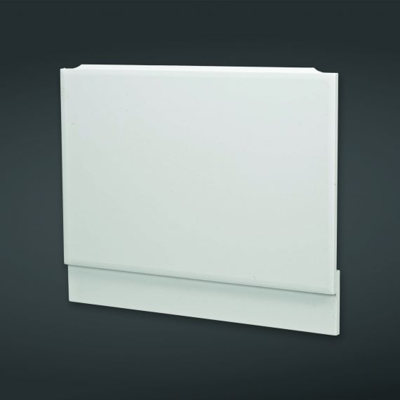 800x585mm High Gloss White End Bath Panel