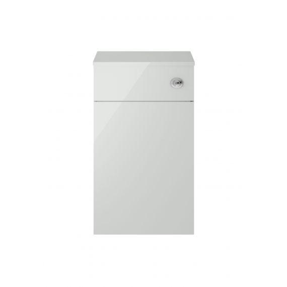 Nuie Athena Gloss Grey Mist 500mm WC Unit