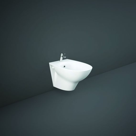 RAK-Morning Wall Hung Bidet With Exposed Fitting