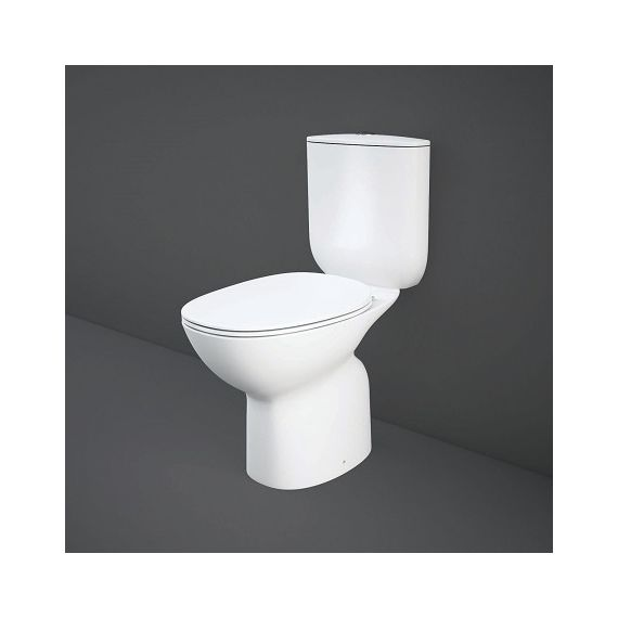 Rak Morning CC Full Access Toilet With Soft Close Seat
