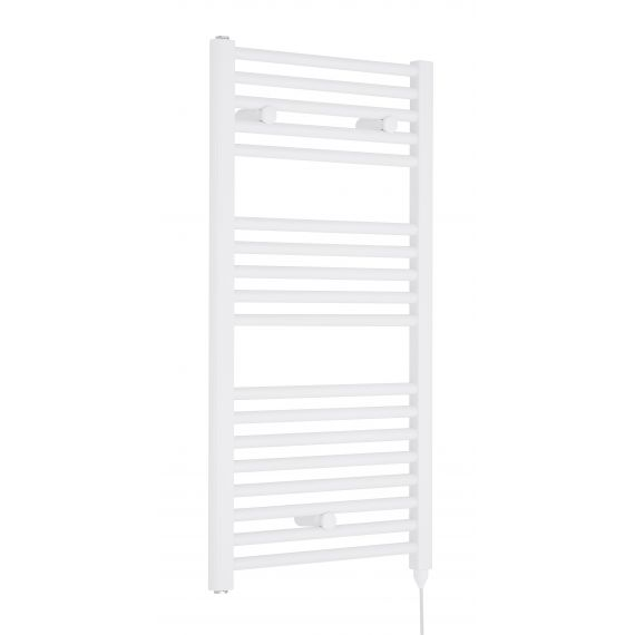 Nuie Electric Towel Rail White 920 x 480mm