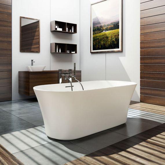 Armonia Freestanding Stone Bath 1550x750