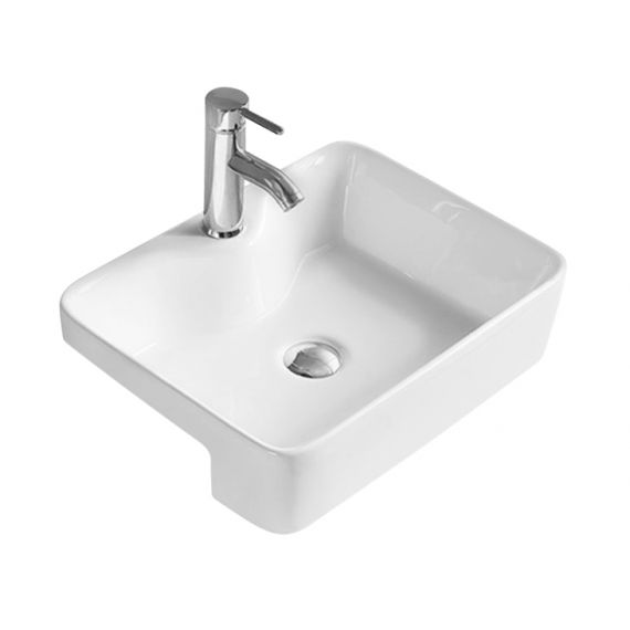 Hudson Reed Semi-recessed basin