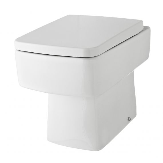 Nuie Bliss Back to Wall Pan including soft close seat