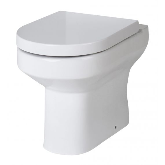 Nuie Harmony Back to Wall Pan including soft close seat