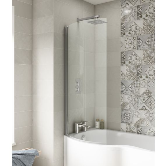 Nuie Curved P-Bath Screen