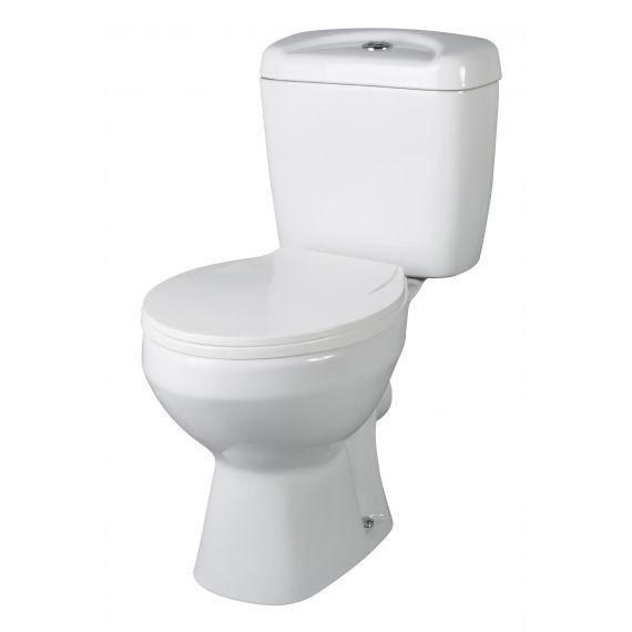 Nuie Melbourne Close Coupled Pan & Cistern inc Seat