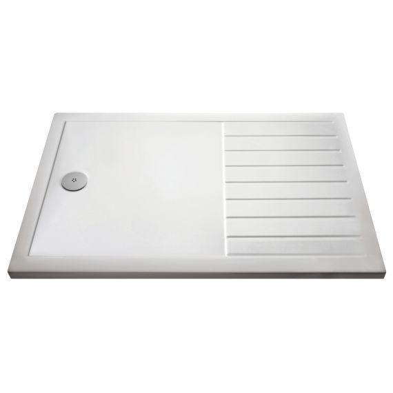 Nuie Rectangular Walk-In Shower Tray 1600 x 800