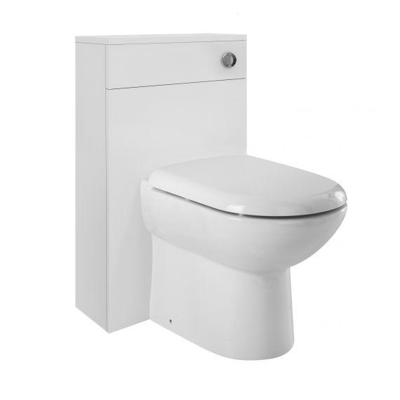Nuie Eden Gloss White 500mm WC Unit