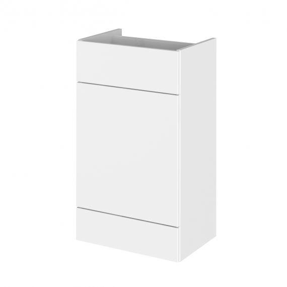 Fusion Gloss White 500mm WC Unit