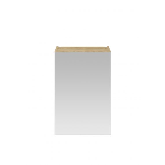 Nuie Natural Oak 450mm Mirror Cabinet