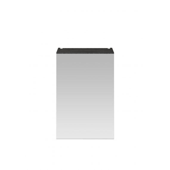 Nuie Hacienda Black 450mm Mirror Cabinet