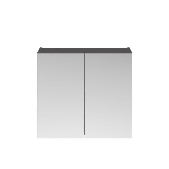 Nuie Athena Gloss Grey 800mm Mirror Unit (50/50)