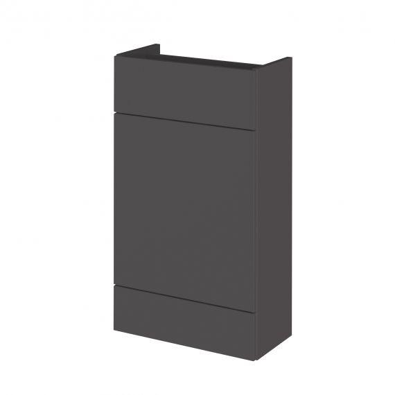 Fusion Gloss Grey 500mm  WC Unit - Compact