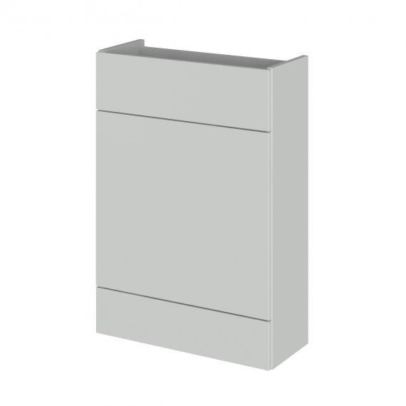Fusion Gloss Grey 600mm WC Unit - Compact