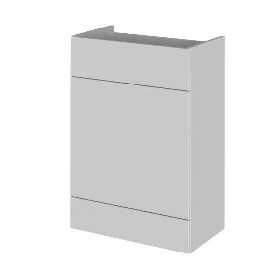 Fusion Gloss Grey Mist 600mm WC Unit