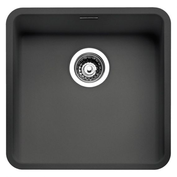 Reginox Ohio 40x40 CB Black Stainless Steel Sink