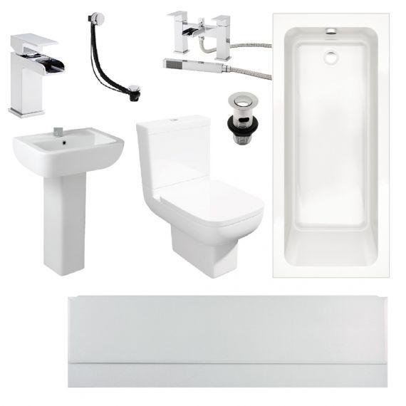 Options 600 1700x700 Complete Bathroom Suite