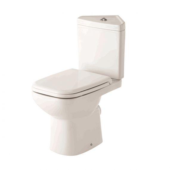 Rak Luxury Corner Toilet Origin 62 With Urea Soft Close Seat
