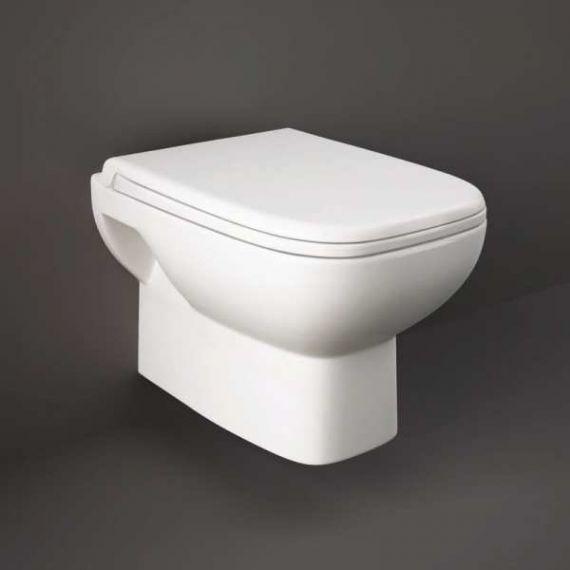 RAK ORIWHPAN/SC Origin Wall Hung Pan with Soft Close Seat