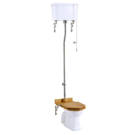 Burlington High Level Toilet Pan Only