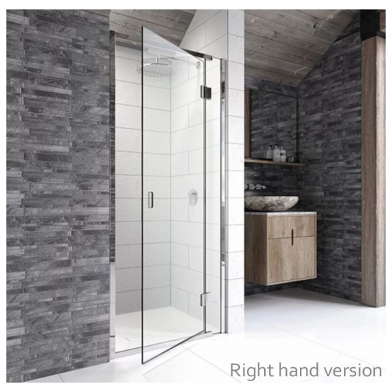 Kudos 900mm Hinged Door For Recess Right Hand