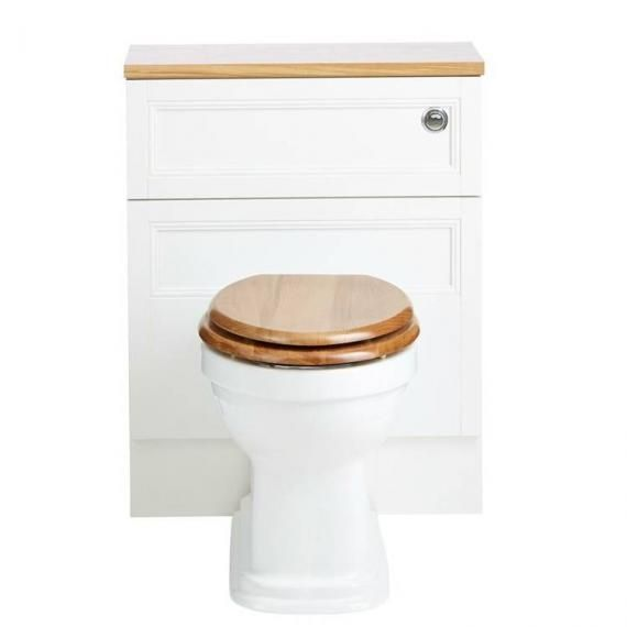 Heritage Claverton Back to Wall WC Pan