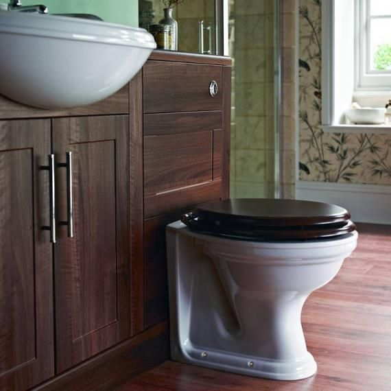 Heritage Dorchester Pdwf00 White Back-To-Wall WC