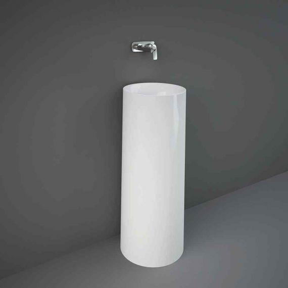 RAK Petit Round Freestanding Wash Basin White PETFS13600AWHA