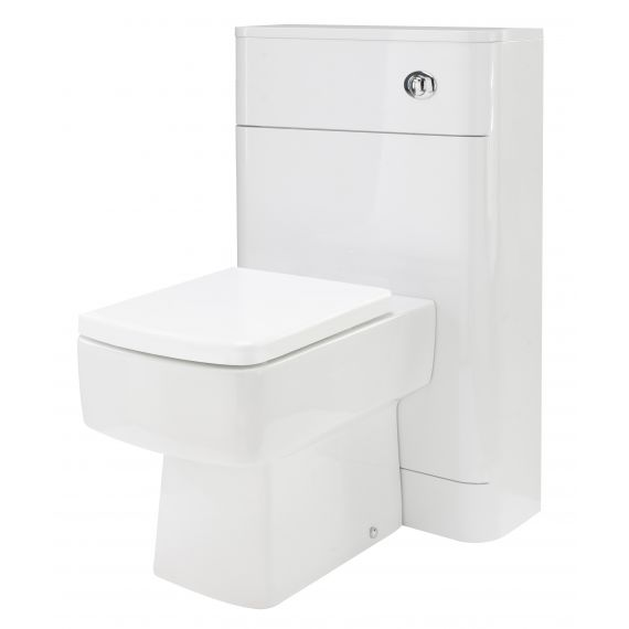 Nuie Parade Gloss White 550mm WC Unit