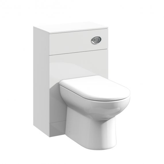 Nuie Mayford Gloss White WC Unit 500 x 330mm