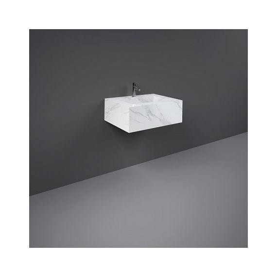 Rak Precious Counter Wash Basin 600mm 1TH Carrara