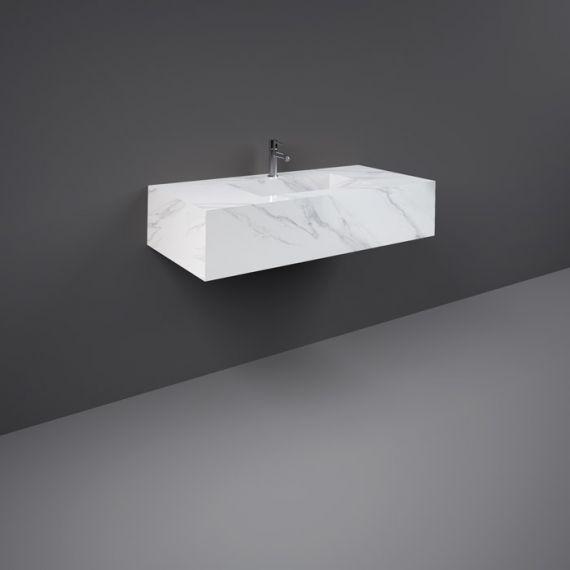Rak Precious Counter Wash Basin 1000mm 1TH Carrara