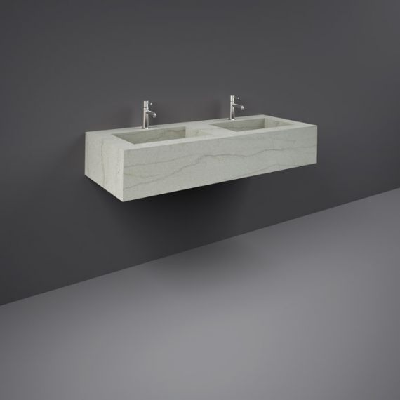 RAK-Precious 1200mm Wall Mounted Counter Wash Basin with 1th in Macaubus