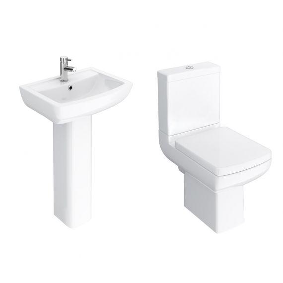 Milanio 4-Piece Modern Bathroom Suite