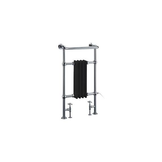 Burlington Bloomsbury Black Radiator R2CHRBLA