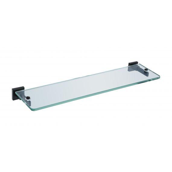 RAK-Cubis Glass Shelf in Black