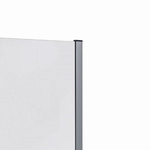 RAK-Feeling Wall Profile  in Chrome 2000mm