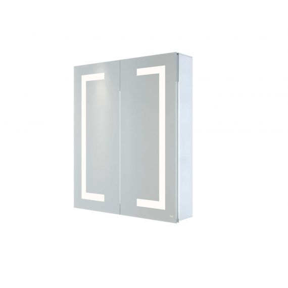 RAK-Sagittarius 600x700 LED Illuminated Mirrored Bluetooth Cabinet with demister,shavers socket and infra red switch