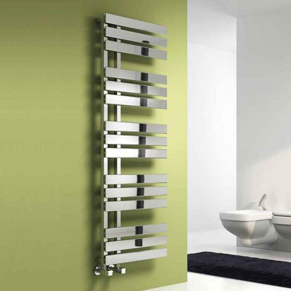 Reina Sesia Designer Heated Towel Rail 1500 x 500mm Chrome
